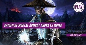 Raiden de Mortal Kombat ahora es mujer