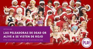 Las peleadoras de Dead or Alive 6 se visten de rojo