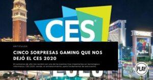 Cinco sorpresas gaming que nos dejó el CES 2020