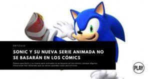 Sonic y su nueva serie animada no se basarán en los cómics